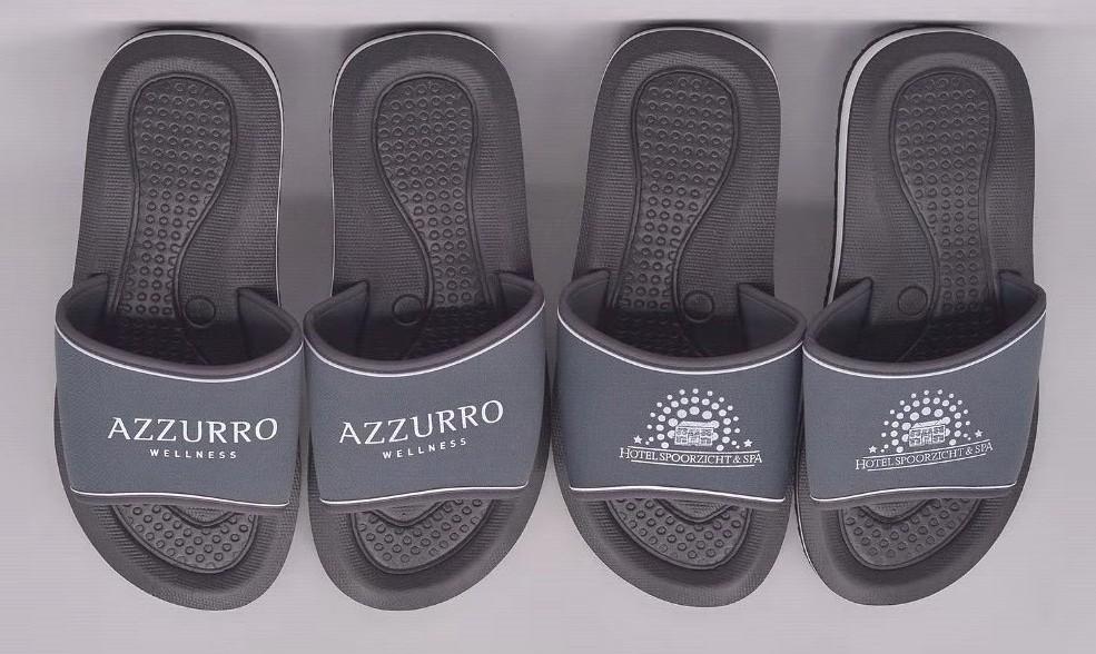 EVA slippers Azzurro en Spoorzicht