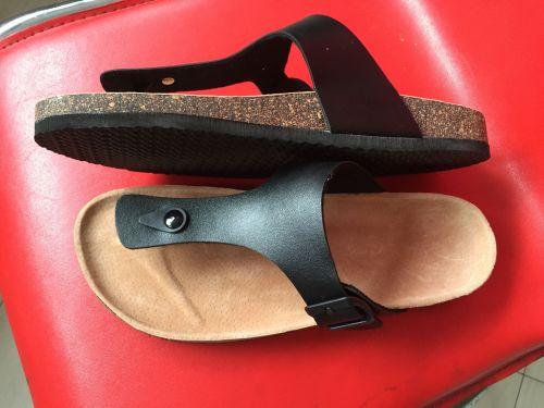 Cork slipper