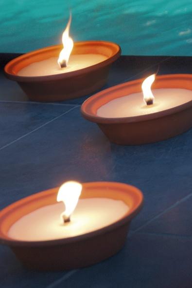 vlamkaarsen voor buitenshuis