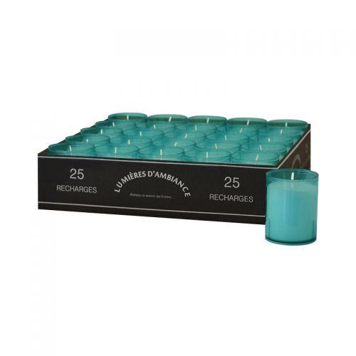 Refills tray 25 stuks aqua
